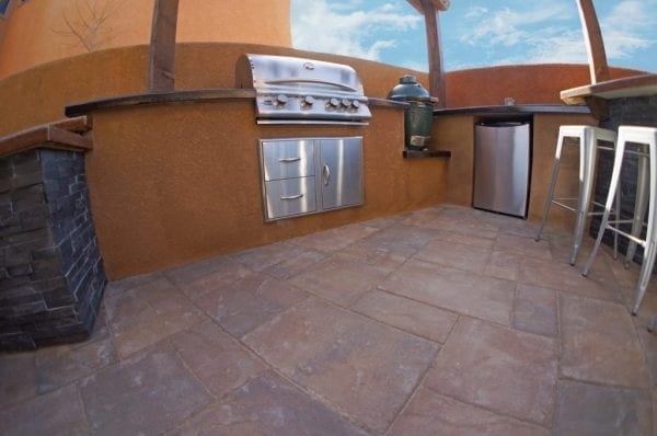 Grill area for an outdoor kitchen idea in Ivywild Colorado Springs