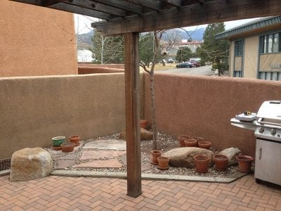 Outdoor Patio Before Picture In Colorado Springs