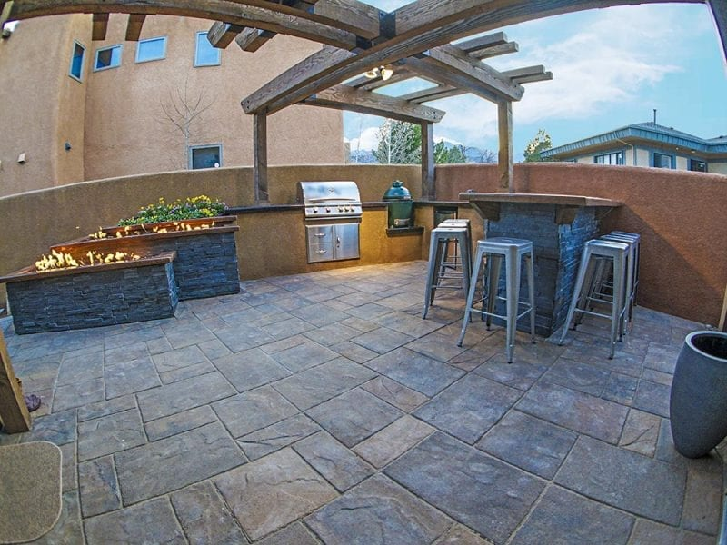 Outdoor Patio In Colorado Springs - After