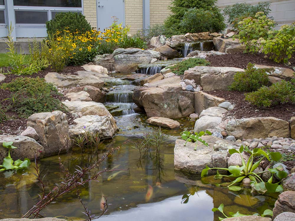 Pond Constructed In Colorado Springs