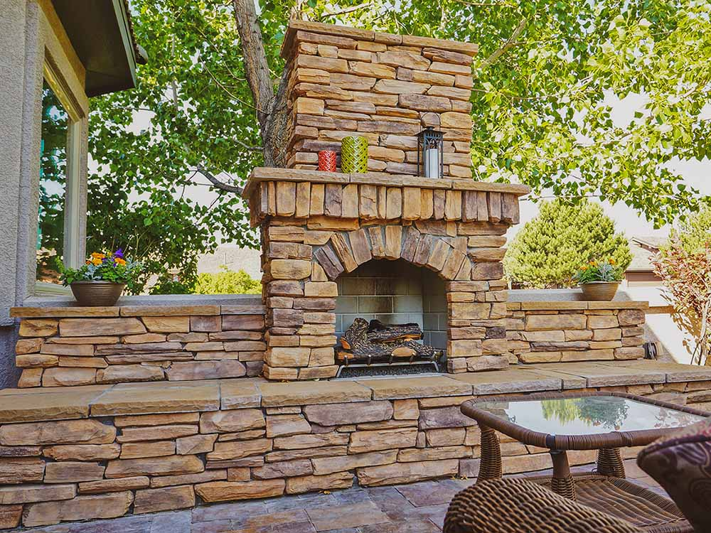 Fire Pit In Colorado Springs - After