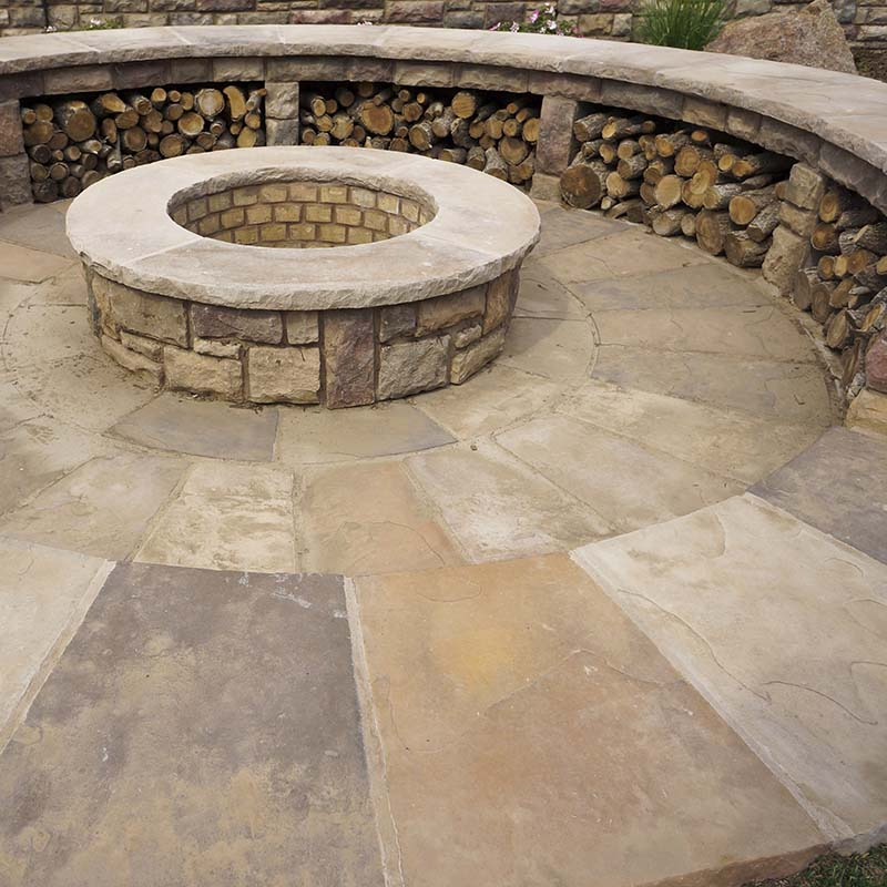 Inground Fire Pit In Canon City CO