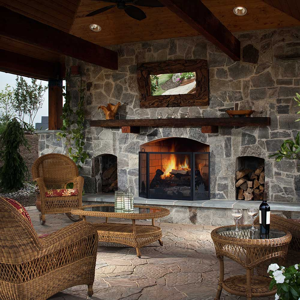 outdoor fire pit for your home   Fire Pit Installation For Your Colorado Springs Home ...