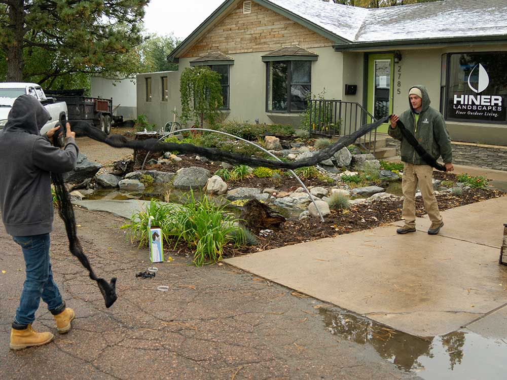 Pond Netting At Hiner Outdoor Living Store
