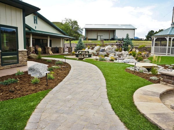 Pathway and landscape design in Canon City