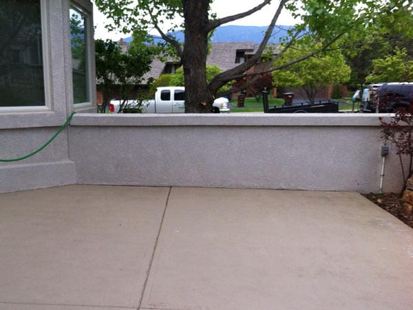 Before creating an outdoor living room in Colorado Springs
